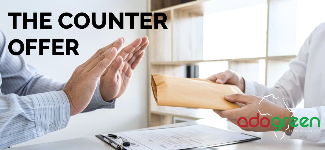 How To Handle The Counter Offer