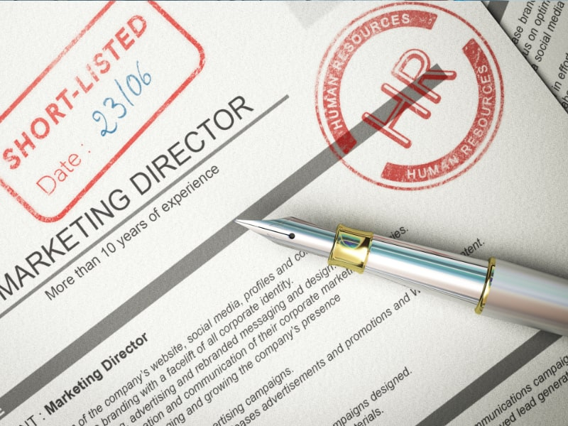 explain how falsifying your curriculum vitae could jeopardise your chances of getting a job