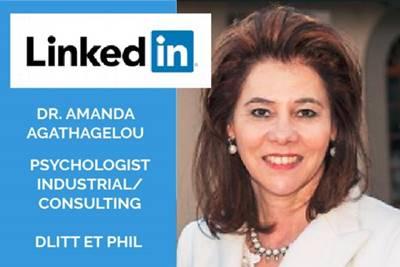 Dr. Amanda Agathagelou Linkedin Heavy Industry Pshycologist Africa